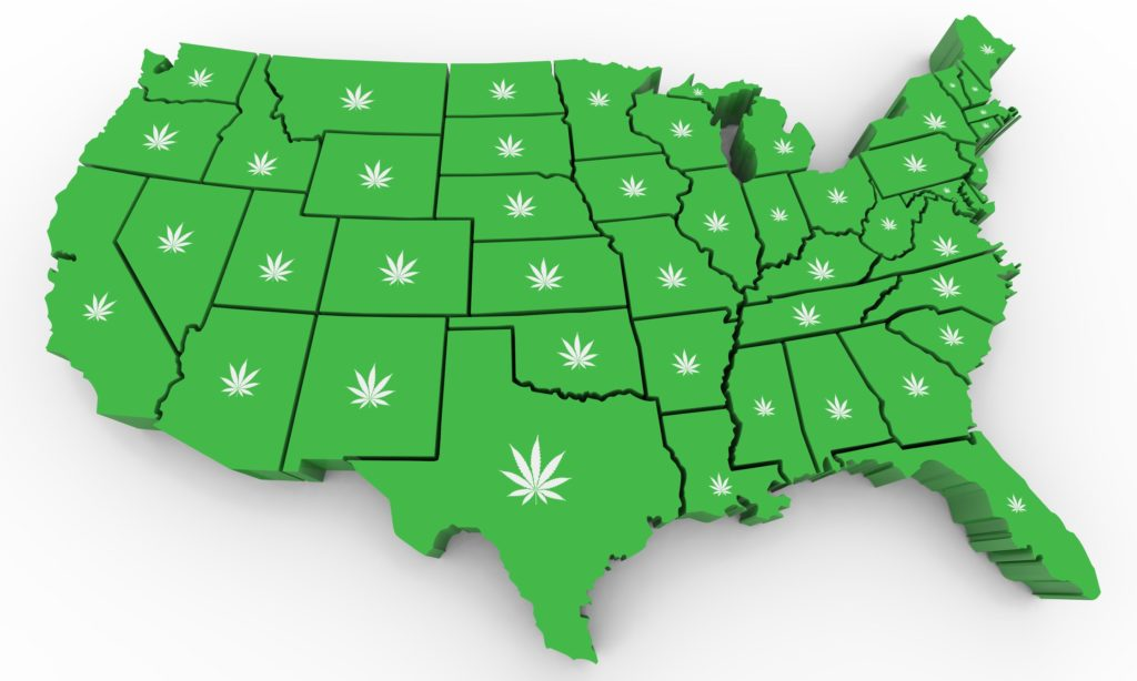Make no mistake, you still have a shot to get in early on the cannabis industry. In fact, there are still 40 states left to fully legalize marijuana. And you can profit again and again as each state moves toward legalization.